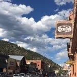 The outside - a very cute Colorado street.