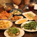 Selection of the dishes we had