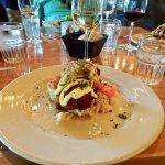 Sumptuous, Tasty Dish of Pan-Seared Haddock PLUS Trimmings