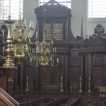 Can you imagine this all lite, there is no electricity in the synagogue or heat