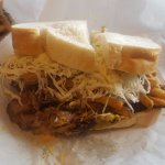 Double Cheddar, Primanti style