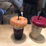 Donuts con cafe