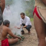 Traditional smoking ceremony on a My Dreamtime Detour