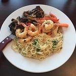 Steak, Prawn & Pasta Special