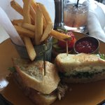 Crab Sandwich & Fries