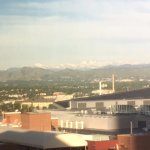 Mountains in the distance, room 1104