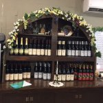 Nice display of wines for sale