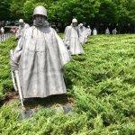 Foto de Monumento a los veteranos de la Guerra de Korea