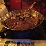 Steak Diane table-side!
