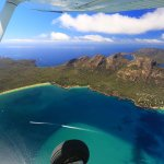 Coles Bay, a wonderful place to see from the Air, Land or Sea!