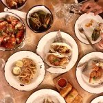 lots of seafood
