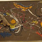 """The Wooden Horse"" by Jackson Pollock"