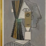 """Woman's Head"" by Pablo Picasso"