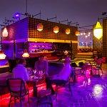 Migas Rooftop Bar (Nighttime)