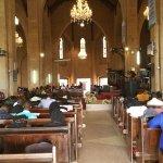 On a Sunday service