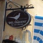 Photo de Trattoria del Fagiano