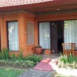 view of front of room of junoir suite has 2 front doors