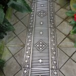 Even the floor grating was beautiful!