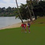 Laguna Bintan Golf Course with the Banyan Tree in the background