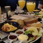 Het classic ontbijt; heerlijk!