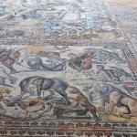 mosaico de Aquiles