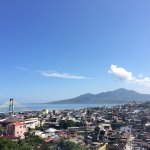 Manado city view from balcony