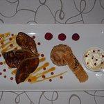 Foie de canard poelé