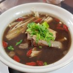the delicious bah kut teh