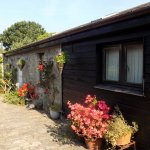 The self-catering cottage is an oasis of cool in the summer sun.