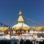 Boudhanath Stupa, in kathmandu valley