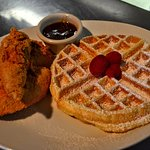 Our famous Chicken & Waffles