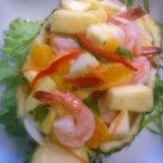 salade d ananas frais