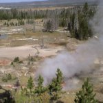 Geysers are quite active