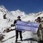 Trekkers in Mountrain
