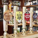 The Prince Albert - Fuller's beer selection