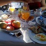 breakfast is superb