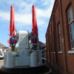 Sea Dart missile as fiited to Destroyers & Frigates late 20th Century