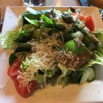 Napa Wood Fired Pizza - my dinner salad