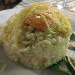 Lemon Risotto with shrimp
