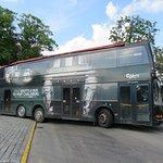 Carlsberg free shuttle bus into the centre of Copenhagen