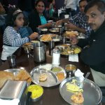 Enjoying South Indian tiffin at Madras cafe, Sunnyvale