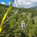 Zip Lining with Montana Whitewater