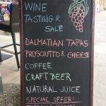 Wine Bar Ston
