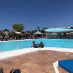 Half of the big pool