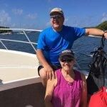 Aboard the Aqua Marine boat Culebra