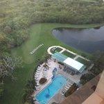 Vista desde el piso 14 de la piscina del hotel