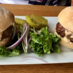 Kobe Sliders at The Red Inn in Provincetown, MA
