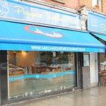 Portuguese Restaurant at South Lambeth Roa, London