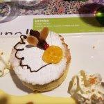 Dessert : brie au kirsh