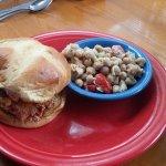 All Souls Chicken Sandwich, The Corner Kitchen, Asheville, NC, June 2017